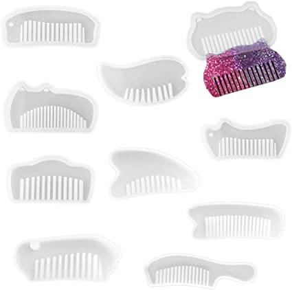 Jewelry DIY Comb Mould Supplies Craft Silicone Mold Resin Casting Craft