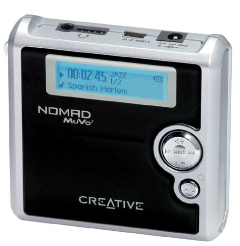 Labs Battery Creative Mp3 (Creative Labs NOMAD MuVo² 4 GB MP3 Player)