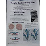 Magic Film Embroidery Backing 10mtr x 50cm A816 by Starlite