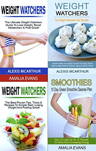 Weight Watchers & Detox Collection 2: Box Set (4 in (Cleansing Box)