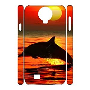 Dolphins 3D-Printed ZLB812191 Brand New 3D Cover Case for SamSung Galaxy S4 I9500
