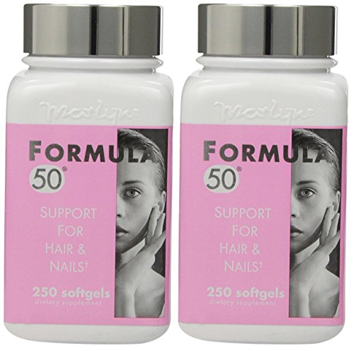 Marlyn Formula 50 Support For Hair & Nails, 250 Softgels ...