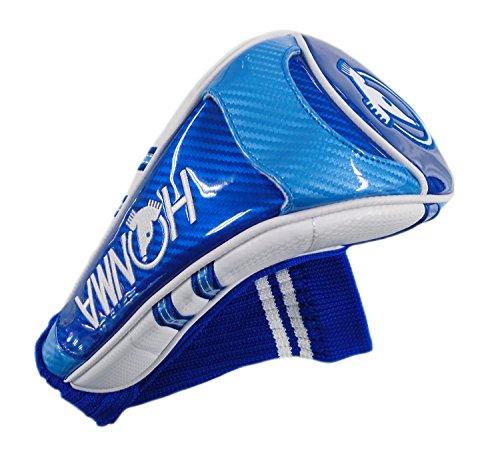 Honma New HC-1801 Team Tour World Blue/White Golf Driver Headcover