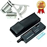 High Accuracy Diamond Tester+60X Clip-On Microscope Magnifier Professional Jeweler for Novice and Expert - Diamond...