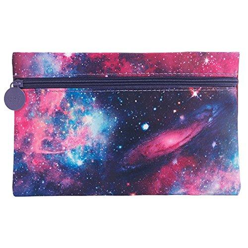 IPSY November 2015 Galaxy Space Zippered Cosmetics Makeup Bag]()