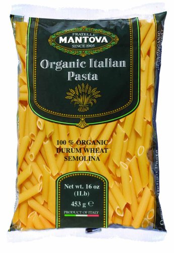 Mantova Organic Penne Rigate Pasta 1 lb. (Pack of 12) The finest of Italian pasta is made from durum wheat that has become synonymous with flavor, quality, goodness, nutritional value, and a tremendous source of energy. The durum wheat used for Mantova Or