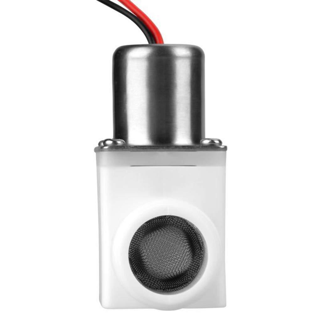 v/álvula de pulso para grifo V/álvula solenoide el/éctrica de 1//2 pulgada DC de 3 V v/álvula de control de agua de pl/ástico