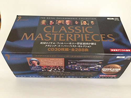 THE ROYAL PHILHARMONIC COLLECTION CLASSIC MASTERPIECES VOL.1〜30[CD30枚組・全288曲]
