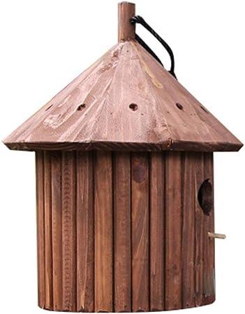 Jardín Birdhouse de la jerarquización Cajas Artes y manualidades al aire libre Cabañas al aire libre