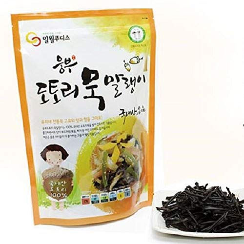 Dried Acorn Jelly 250g x 2 packs, Product of Korea 묵말랭이 by Ilweol (Image #1)
