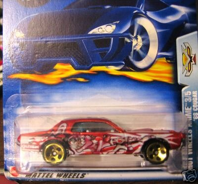 - Hot Wheels Anime 3/5 2003 072 '68 COUGAR 1:64 Scale