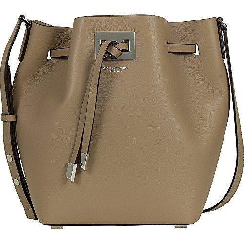 Michael Kors Miranda Medium Leather Crossbody Bucket Bag 31T5PMDM2L - Miranda Mk