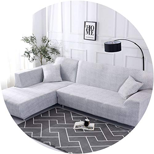 better-caress 1 ce/ 2 ces Geometric Pattern Sofa Cover for L Shaped Sectional Sofa Couch Cover Sofa Towel decorativos para Sofa,Cr 11,3-Seater 190-230cm