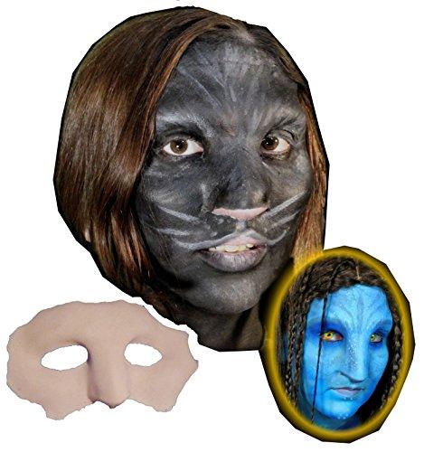 (Native Cat Face Foam Latex Prosthetic Theater Appliance)