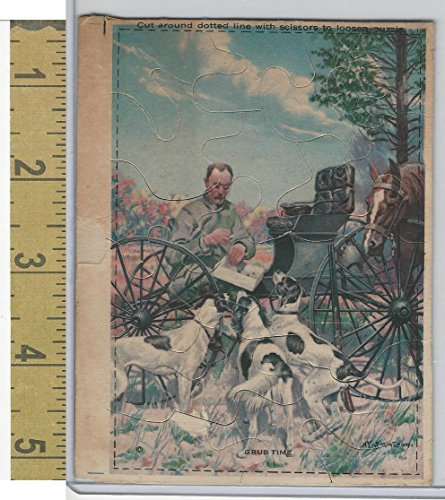 victorian-card-1890s-puzzles-grub-time-dogs-horse-wagon-i