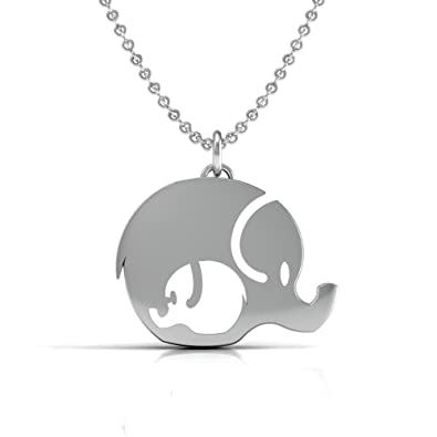 Amazon The Best Mother And Daughter Elephant Necklace 925