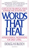 Words That Heal, Douglas Bloch, 0929671007