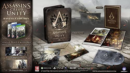Assassins Creed: Unity Bastille Edition (XBOX ONE) [Importación ...