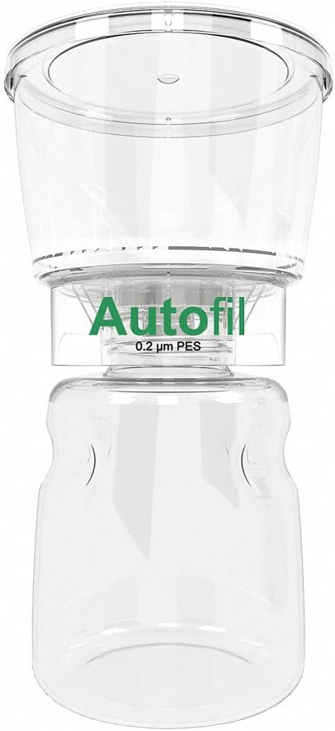 Bottle Top Filter,500mL,Dia.4-5//8in,PK12