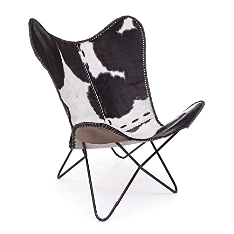 ARREDinITALY - Juego de 2 sillones Negros con Estructura de ...