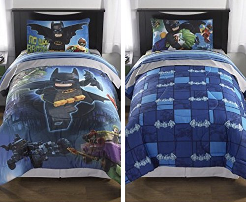 Lego Batman Movie Reversible Comforter (Twin/Full)