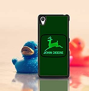 Cute Funda Case for Sony Xperia Z2 (Suit fit for Z2) Brand Logo John Deere Snap On Hardshell Slim High Impact Drop-Proof Creative