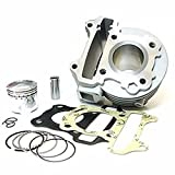 scooter Big Bore Kit GY6 50cc to 80cc Moped 139 QMB 139QMB Cylinder Piston Rings