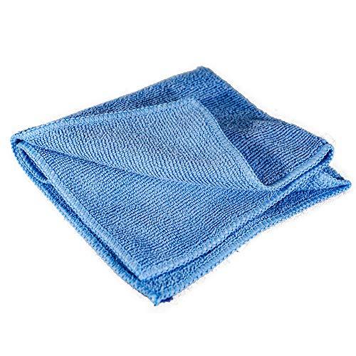 Towels by Doctor Joe – Ultra-03 Sky Blue Medium Weight Full Terry 12″ x 12″ Microfiber Towel – 10 Pack