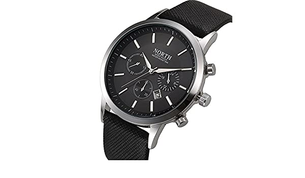 Amazon.com: Mens 2017 North Brand Luxury Quartz Sports Wristwatch.: Home Audio & Theater