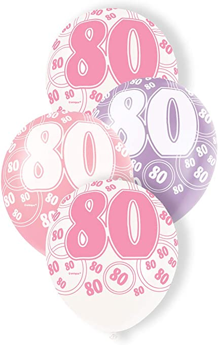 Pink Black Silver Sparkle Glitz Party Tableware Birthday Napkins Plates