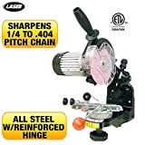 LASER Chainsaw Grinder 110V Sharpens All Chains From 1/4 Inch to .404 Inch Pitch With Extreme Precision