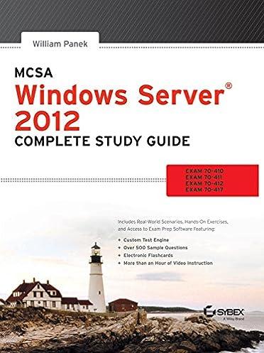 buy mcsa windows server 2012 complete study guide exam 70 410 70 rh amazon in windows server 2012 – complete guide with hands-on training windows server 2016 complete study guide pdf
