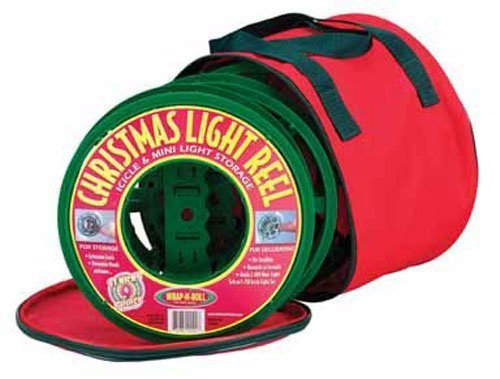 Christmas Light Company Storage Bag Red by Dyno Imports