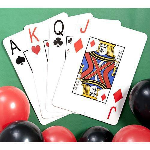 Giant Playing Cards Set of 4