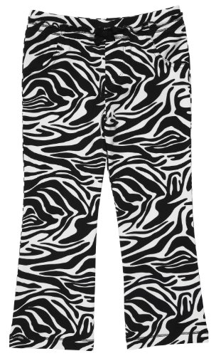 Carter's Infant Bootcut Knit Pant - Zebra Print-24 Months