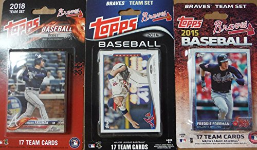 - Atlanta Braves Factory Sealed 3 Team Set Gift Lot Including 2018, 2015 and 2014 Teams. Each Factory Set Contains 17 Exclusive Braves Cards That Are Not Found in Packs!