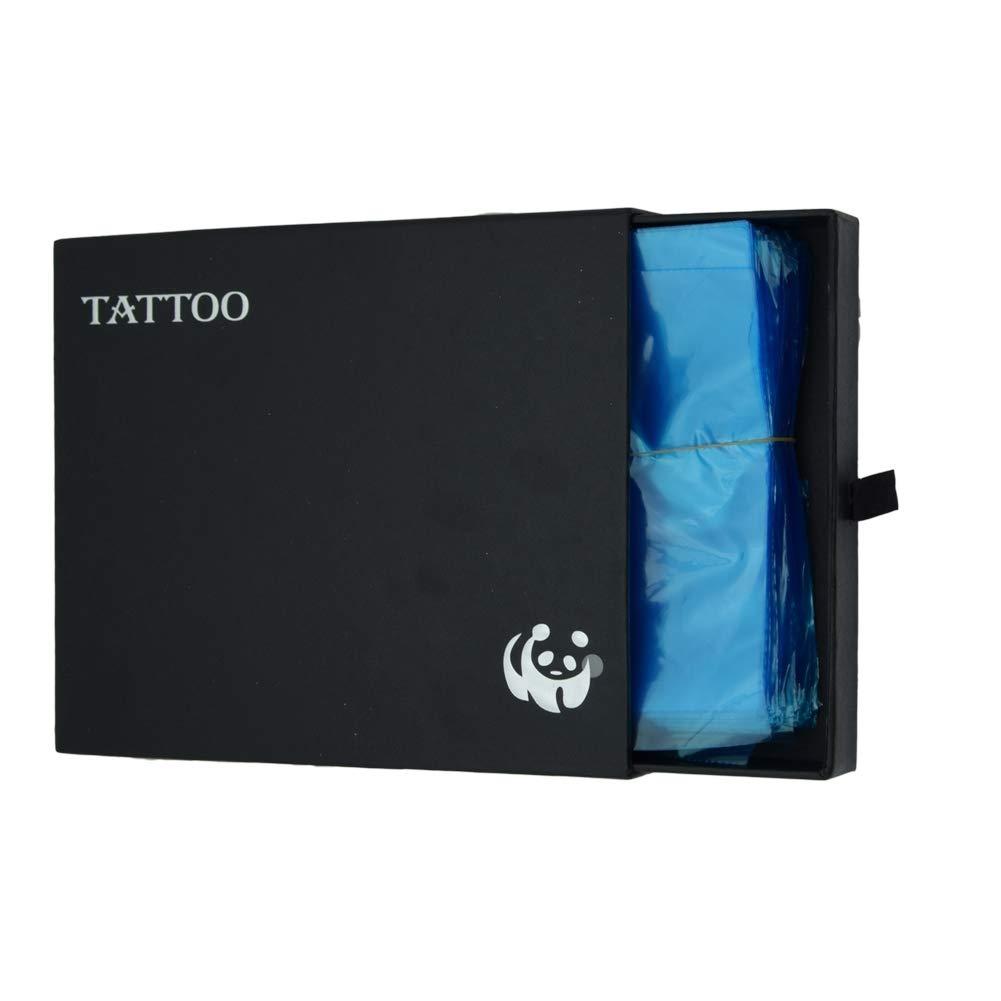 Tattoo Gun Bags,New Star Tattoo 200pcs Disposable Tattoo Supply Tattoo Machine Sleeves Cover Bags Blue Plastic Machine Bag For Tattoos Supplies