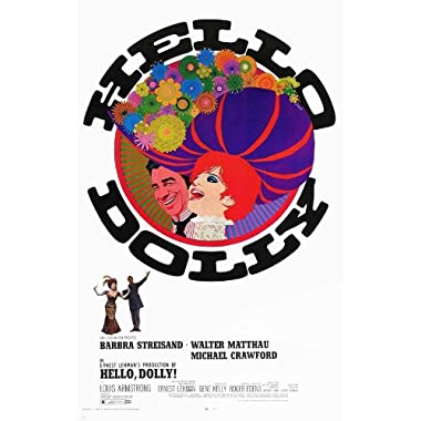 Hello Dolly Poster Movie C 11x17 Barbra Streisand Walter Matthau Michael Crawford Louis Armstrong