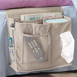 Amazon.com: 6 Pocket Bedside Storage Mattress Book Remote
