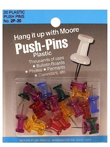 gem stone push pins - 7