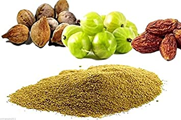 1Kg Triphala Triphla Powder Amla Haritaki Bhibhitaki Churna Used in  Constipation in Digestion Curing All Types of Digestion Problems