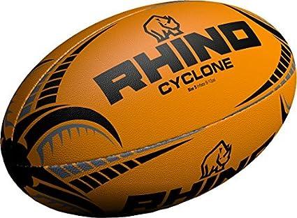 Only Sports Gear Rhino Cyclone - Balón de Rugby (Talla 4), Color ...