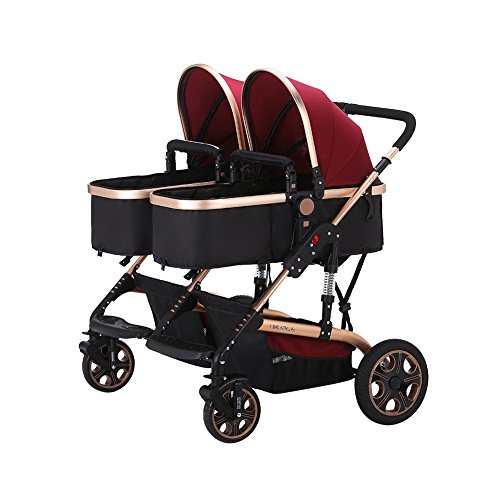 Double Pram For Newborn And 3 Year Old - 4