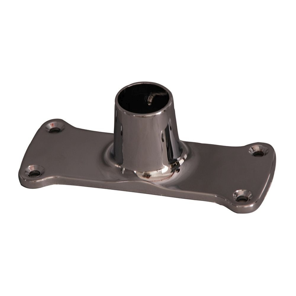 Barclay Products 1.12 in. Jumbo Rectangular Shower Rod Flanges in Oil Rubbed Bronze by Barclay