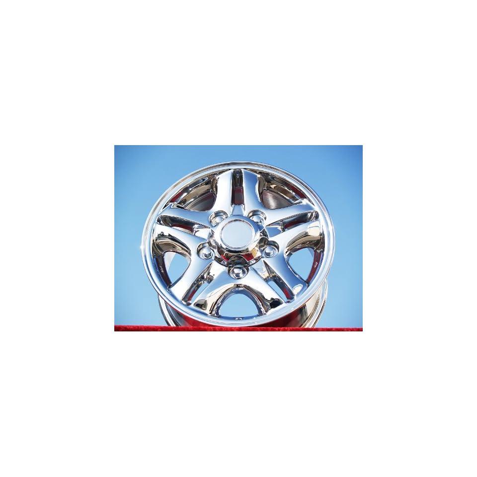 Lexus LX470 Set of 4 genuine factory 16inch chrome wheels