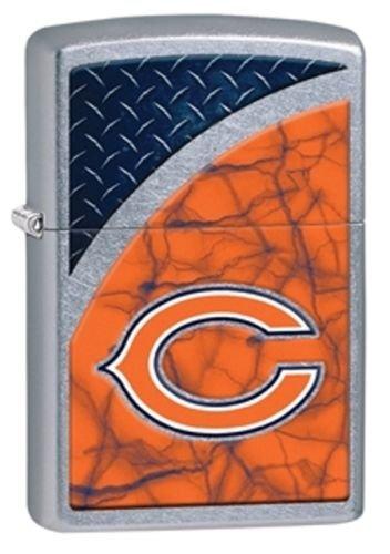 Latest 2016 Style Personalized Zippo Lighter NFL - Free Laser Engraving … (CHICAGO BEARS) Nfl Chicago Bears Zippo Lighter
