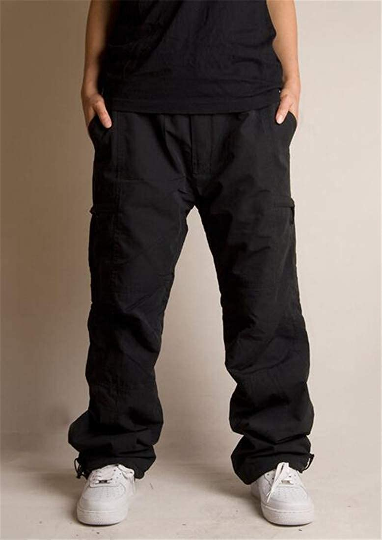 Lutratocro Mens Outdoor Fitness Sports Multi Pockets Cargo Trousers Pants