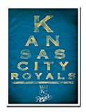 "Kansas City Royals EYE 12x16"" Poster Print Wall Art Décor"