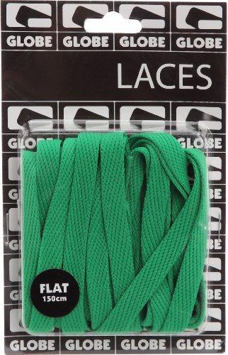 Globe Unisex Adults Gb009390 Shoe Lace Green (Kelly Green Flat Lace) AH992UtAwO