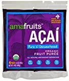 Amafruits Acai Berry Puree - Pure & Unsweetened - 144 Smoothie Packs offers
